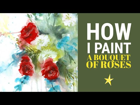I'm painting in the shop of a florist in barcelona !